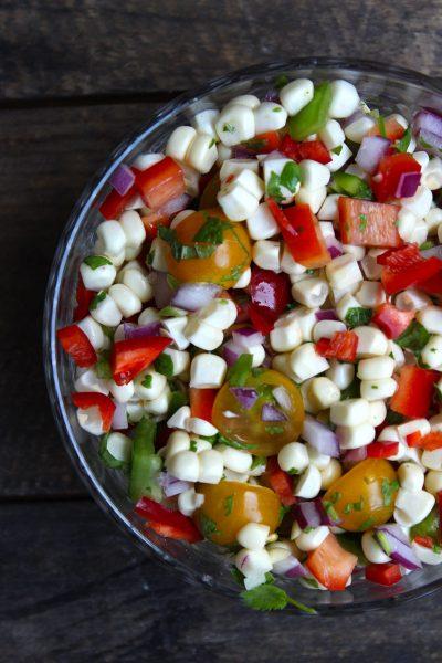 Simple Corn Salad