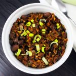 Hearty Raw Vegan Chili | Sprouted Slow Cooked Beans