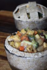 Raw Vegan Pot Pie