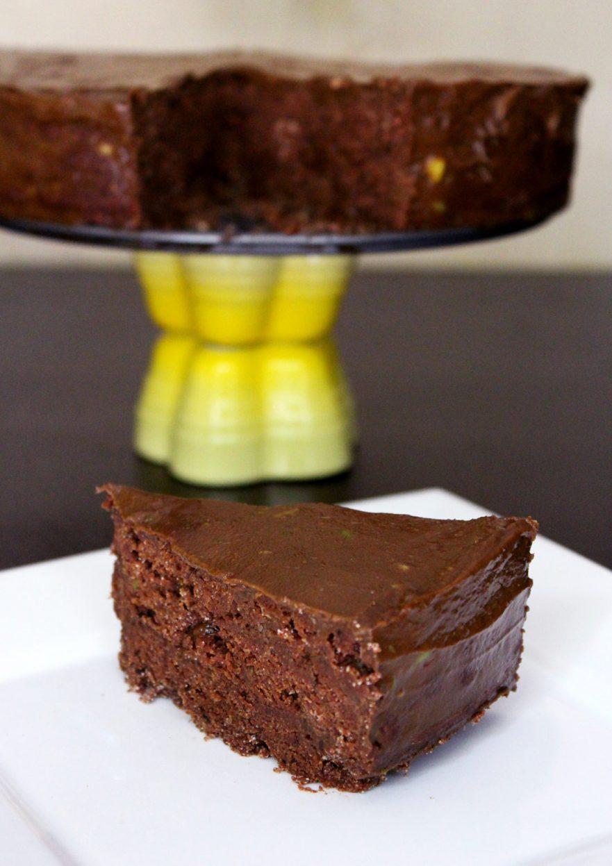 The Ultimate No Bake Chocolate Cake | Amanda Nicole Smith