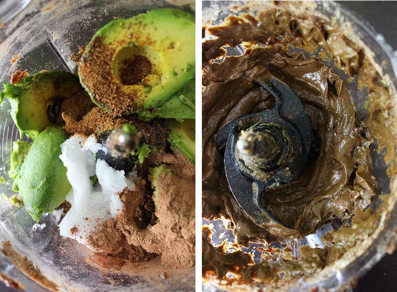 Raw Vegan Chocolate Avocado Frosting