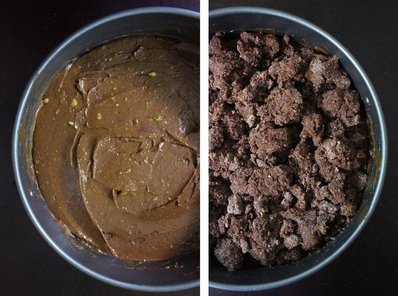 No Bake Chocolate Layered Cake