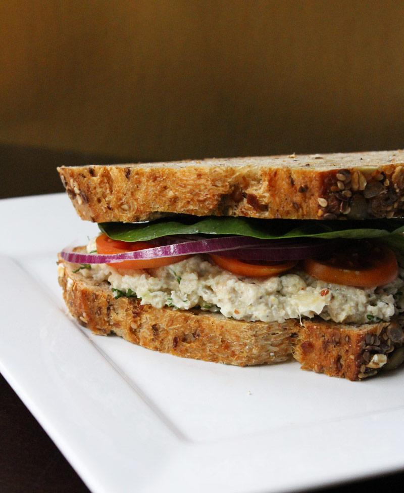 Imitation Tuna Sandwich
