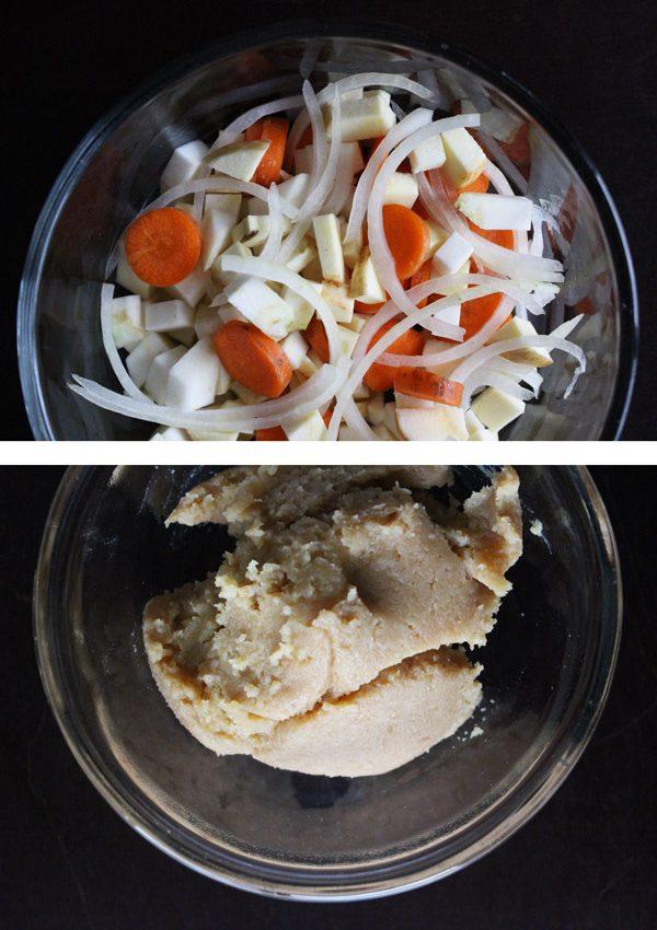 Veggie Miso Soup