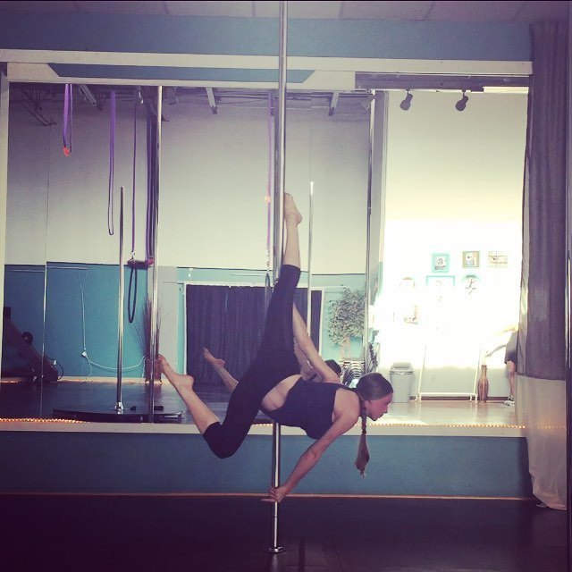 Pregnant Pole Dancing