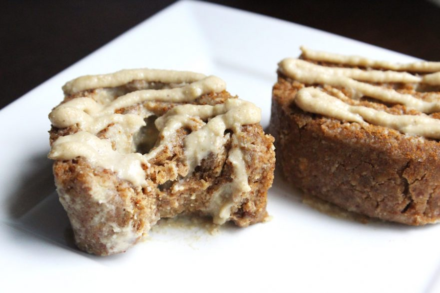 Raw Vegan Cinnamon Rolls