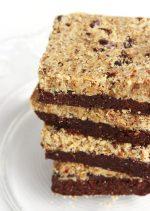 Brookies | No Bake, Guten Free & Vegan